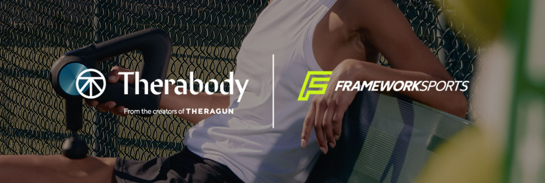 therabody framework partnership banner top