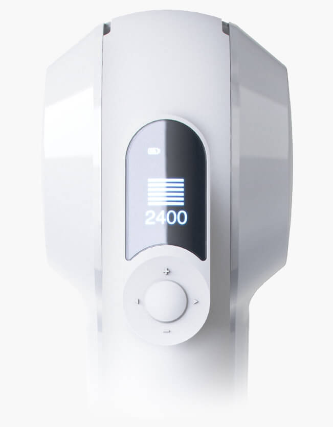 theragun elite oled screen force meter