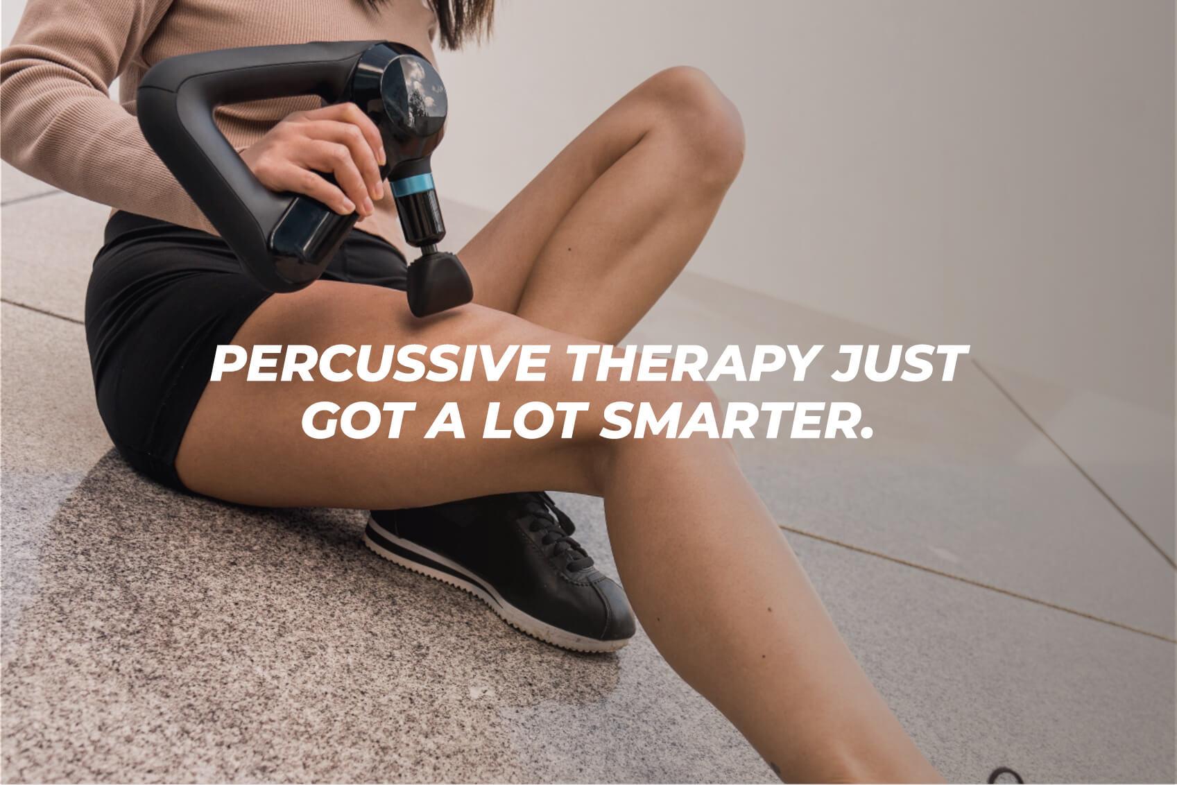 theragun elite percussive therapy just got smarter