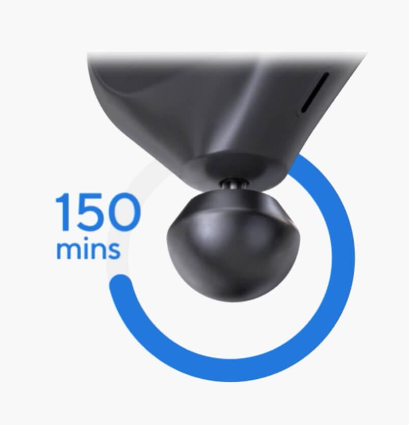 theragun mini 150 minute battery