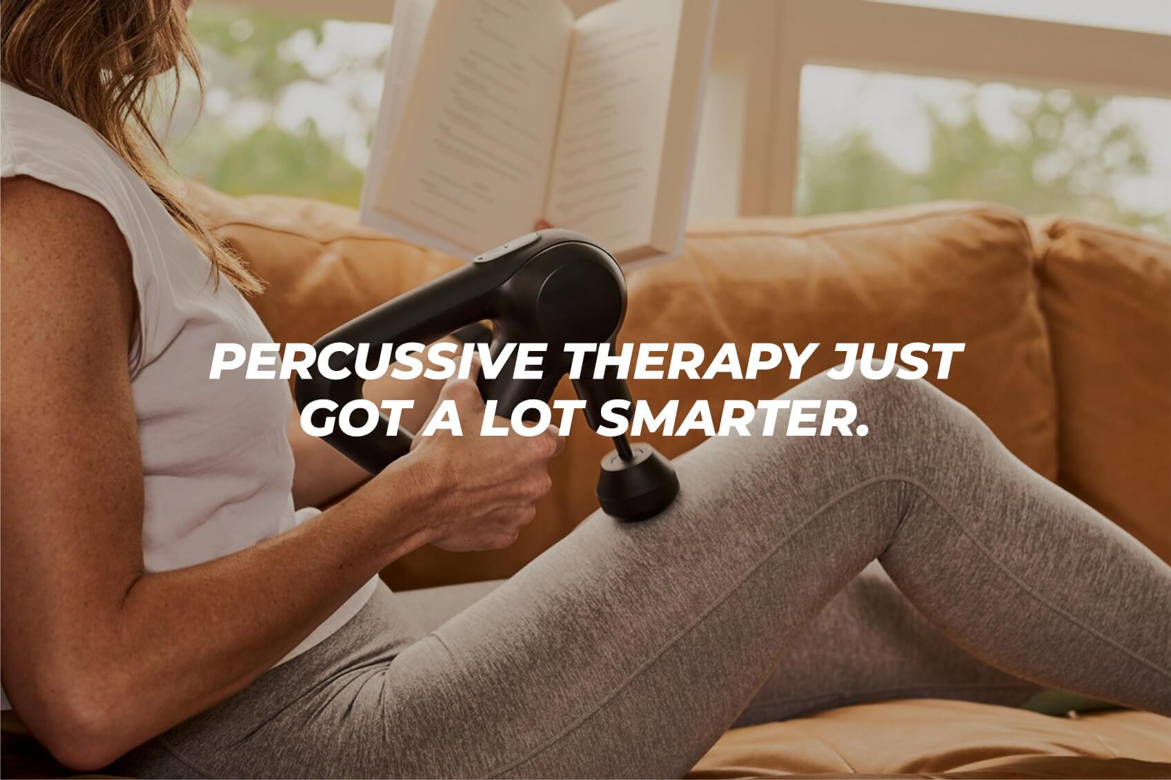 theragun prime percussive therapy just got smarter