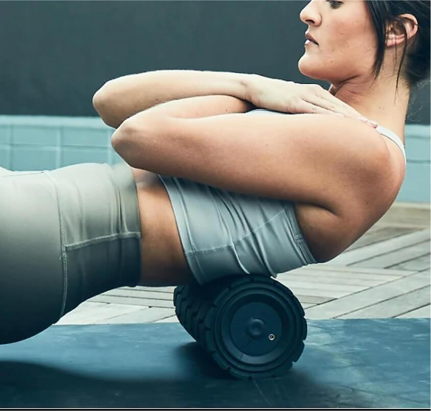 wave roller hips and upper back
