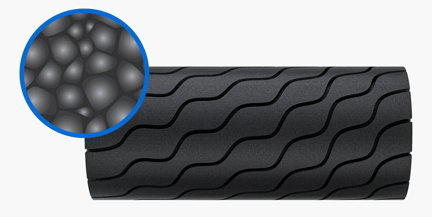 wave roller performance material