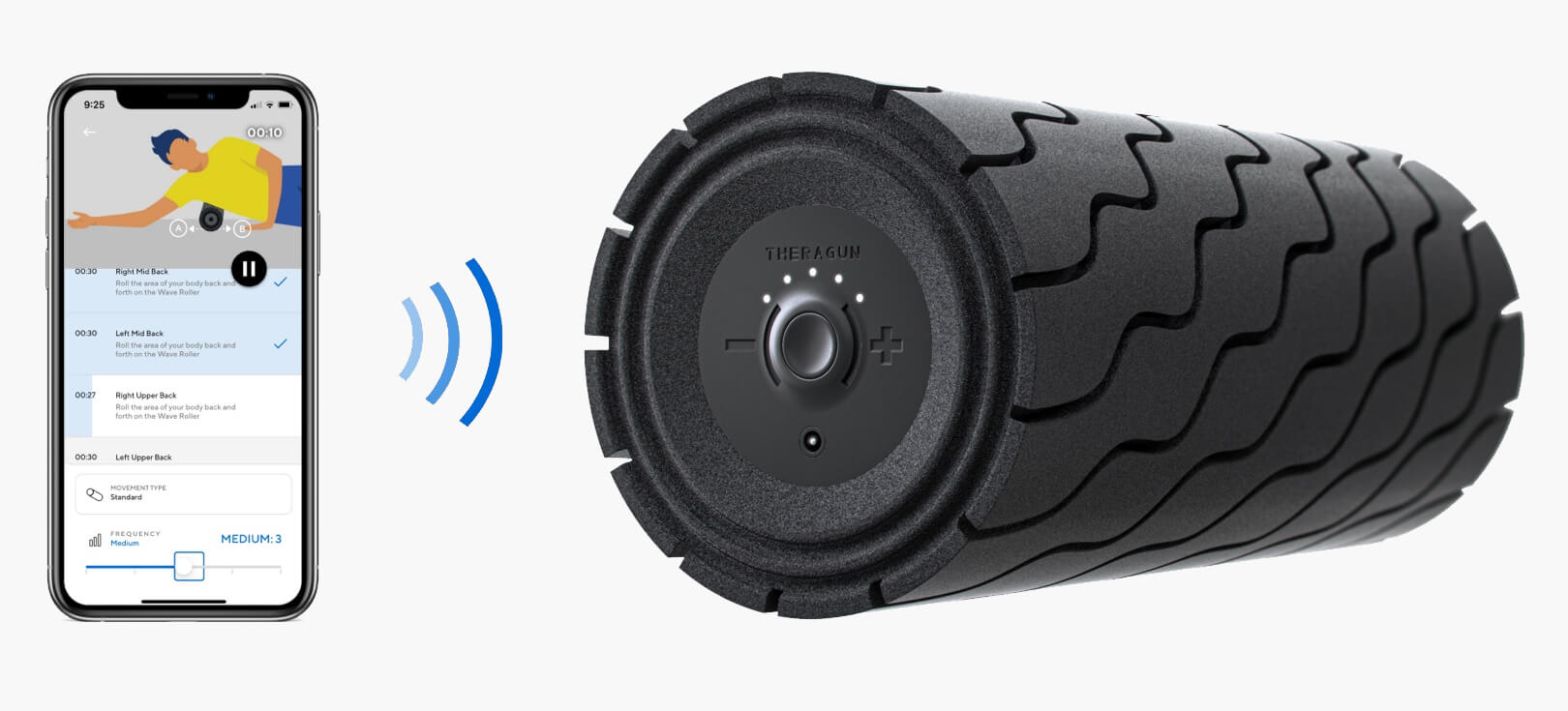 wave roller smart connectivity