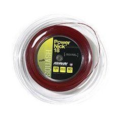ASHAWAY POWERNICK 18 SQUASH RED 110m REEL