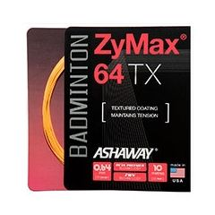 ASHAWAY ZYMAX 64 TX BADMINTON 10m SET