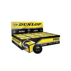 DUNLOP PRO SQUASH BALL 1 DOZEN BOX