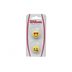 Wilson Emoti Fun Heart/Tongue Out Dampeners 2 Pack