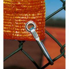 Orange tennis windbreak