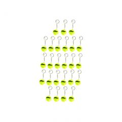 Prince Tennis Ball Keychain 25 Pack
