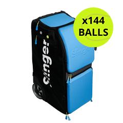 Slinger Bag Grand Slam Champion Pack with 144 Tennis Balls
