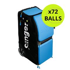 Slinger Bag Grand Slam Player Pack Ball Machine with 72 Balls