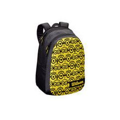 Minions by Wilson Junior Tour Backpack Black/Yellow front