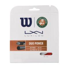 Wilson Duo Power Roland Garros Hybrid (Set)