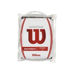 Wilson Advantage Overgrip 12 Pack Black