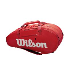 Wilson Super Tour 2 Comp Large Bag INFRARED (9 pack)