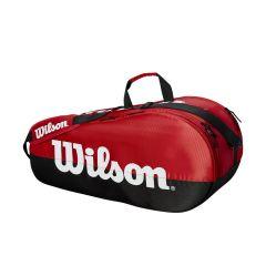 Wilson Team 2 Comp Bag BK/RED (6 pack)