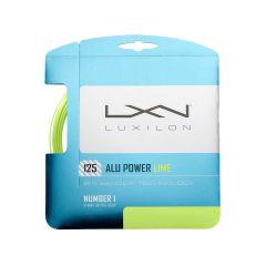 Luxilon Alu Power 125 LE Lime 12.2m Set