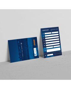 Dunlop Stringing Card Pack of 50