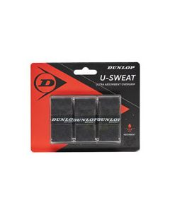 Dunlop U-Sweat Overgrip 3 Pack