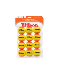 Wilson Starter Mini Orange Balls 12 Pack