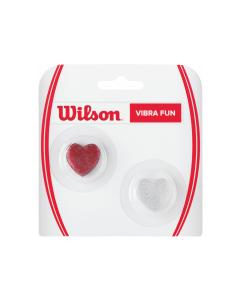 Wilson Vibra Fun Dampeners Glitter Hearts 2 Pack