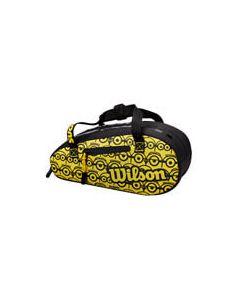 Minions by Wilson Mini Racquet Bag / Pencil Case Black/Yellow
